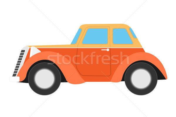 Red Sport car. Stock photo © frescomovie