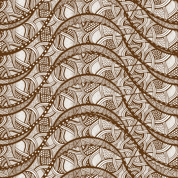 sketchy seamless pattern Stock photo © frescomovie