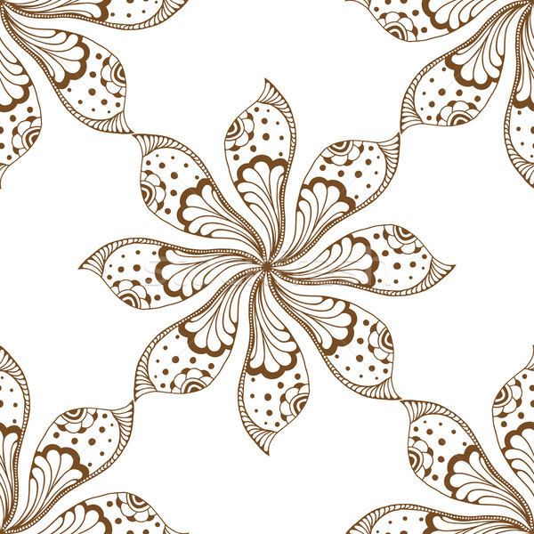 mandalas seamless pattern. Stock photo © frescomovie