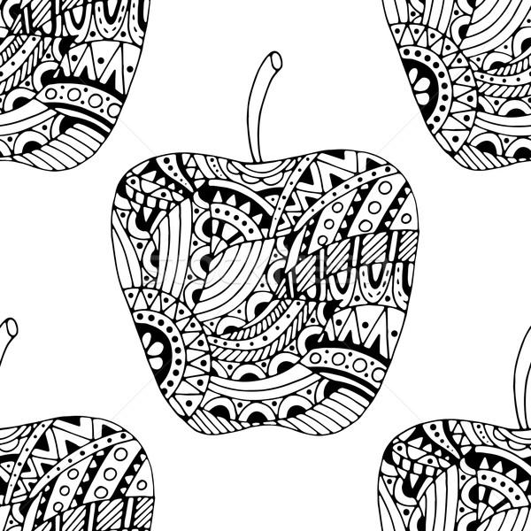 Foto stock: Manzana · gris · patrón · pueden · utilizado