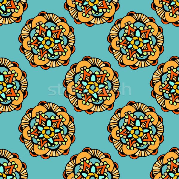 Seamless Floral Pattern. Stock photo © frescomovie
