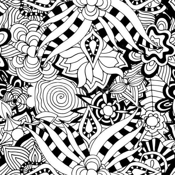ornament muster abstrakten tribal hand gezeichnet vektor grafiken volodymyr. Black Bedroom Furniture Sets. Home Design Ideas