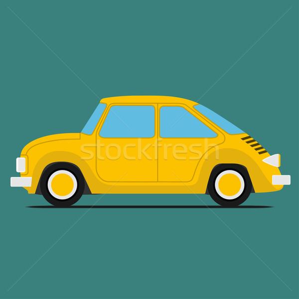 Yellow Sport car Stock photo © frescomovie
