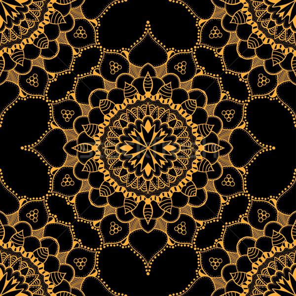 Brązowy wschodniej kwiat tekstury Zdjęcia stock © frescomovie