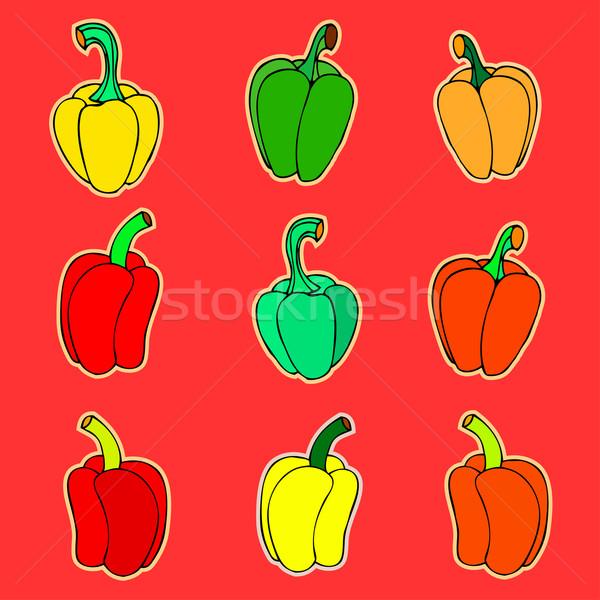 peppers  Stock photo © frescomovie