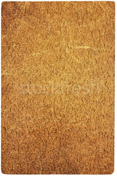 Papel velho envelhecimento papel velho sujo textura Foto stock © frescomovie