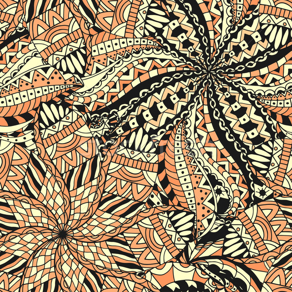 Seamless etnik Pattern Stock photo © frescomovie