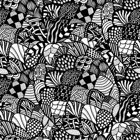 бесшовный аннотация племенных шаблон рисованной текстуры Сток-фото © frescomovie