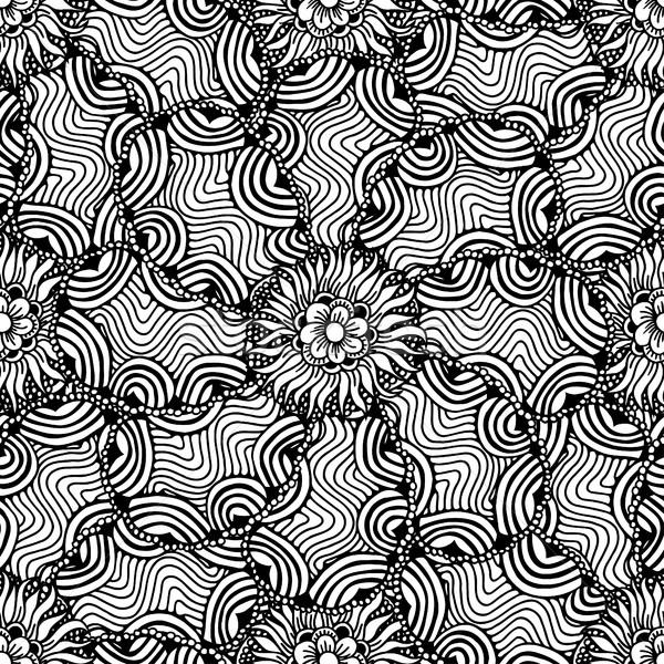 Ornamental floral background. Stock photo © frescomovie