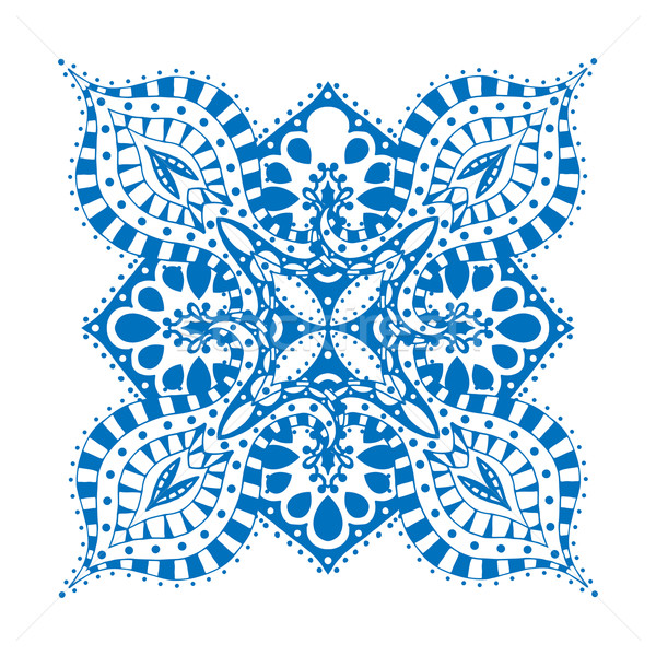 Rosette ornament Stock photo © frescomovie