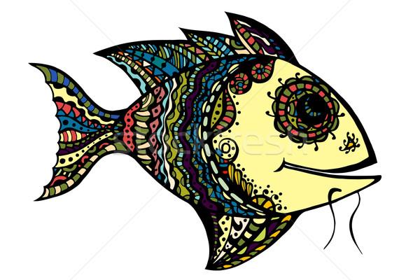 stylized Fish Stock photo © frescomovie