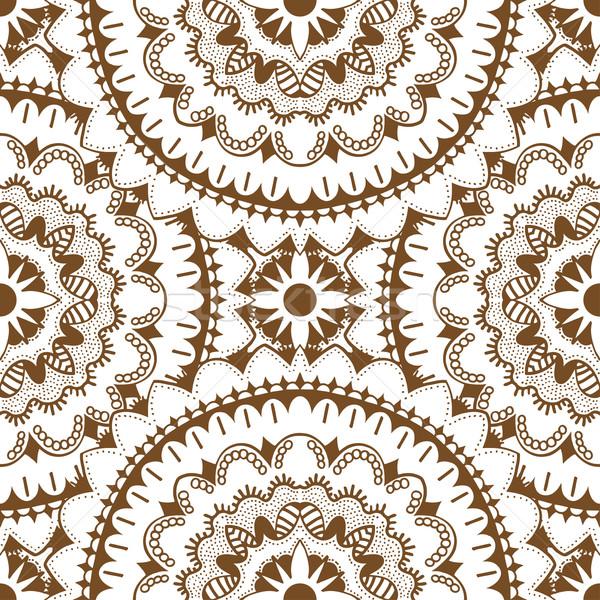 ブラウン 東部 ベクトル 孤立した ストックフォト © frescomovie