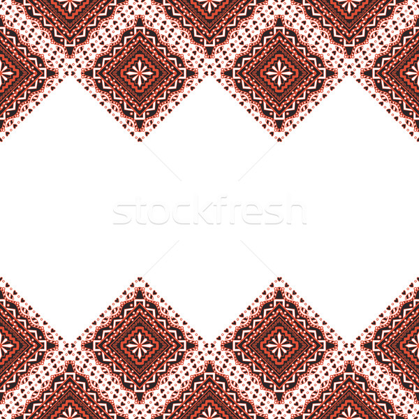 Embroidery abstract  frame Stock photo © frescomovie