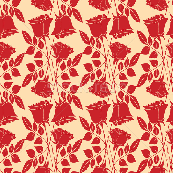 Seamless wallpaper pattern Stock photo © frescomovie