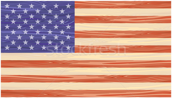 US Flag Stock photo © frescomovie