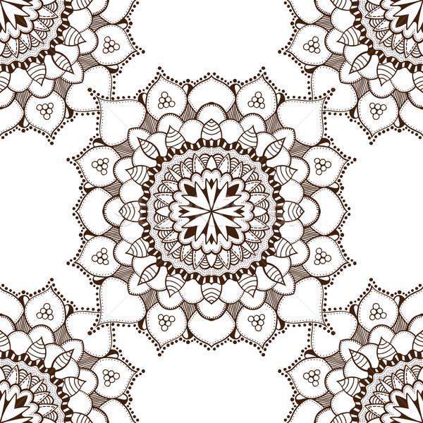 Kahverengi doğu çiçek doku Stok fotoğraf © frescomovie