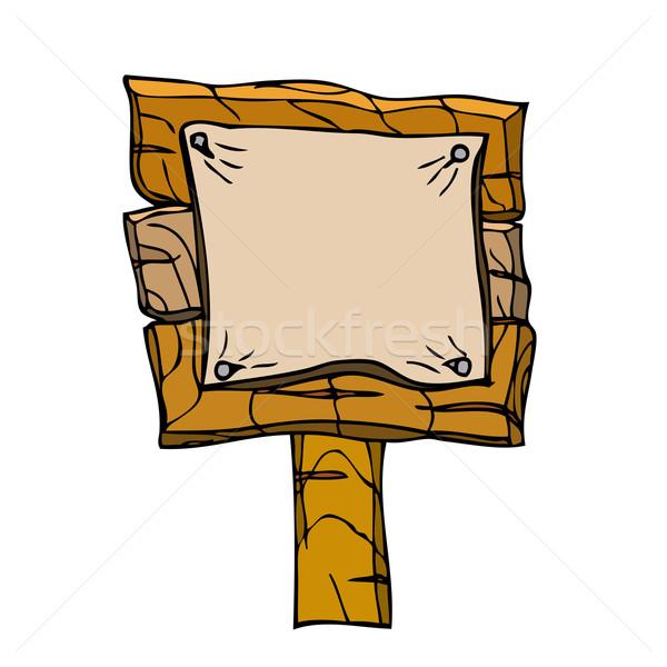 Wooden Signpos.  Stock photo © frescomovie