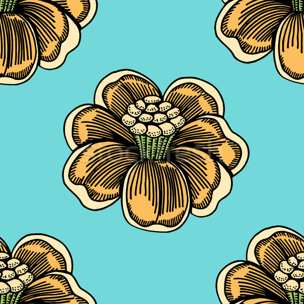 Flower Pattern background Stock photo © frescomovie