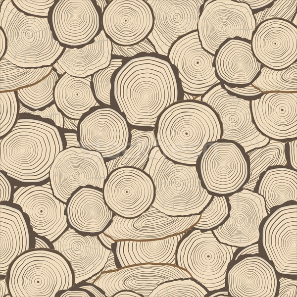 Tree rings saw cut tree trunk background Stock photo © frescomovie