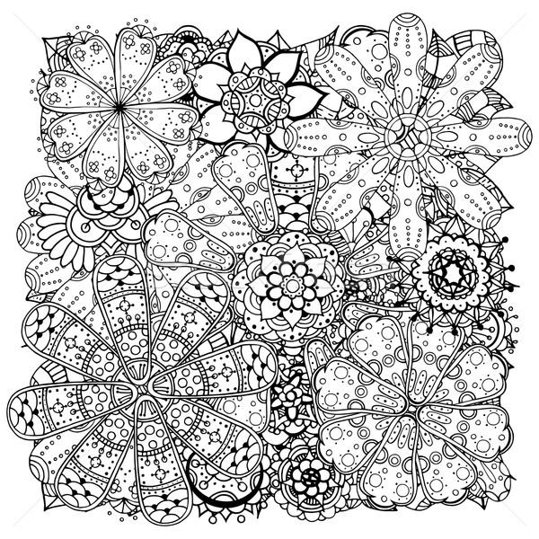 Сток-фото: цветы · растений · различный · болван · стороны