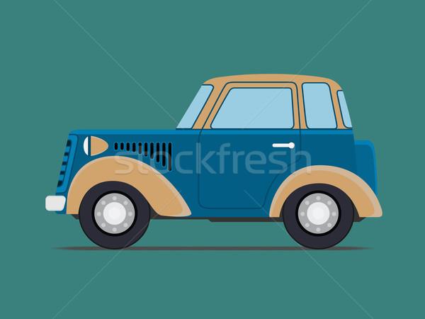 Vintage  car. Stock photo © frescomovie