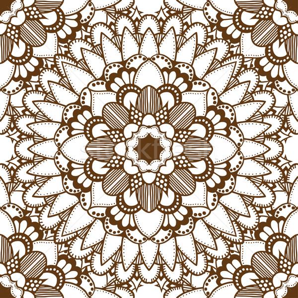 Bruin Oost bloem textuur Stockfoto © frescomovie