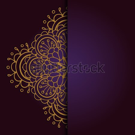 Abstract circle ornament Stock photo © frescomovie