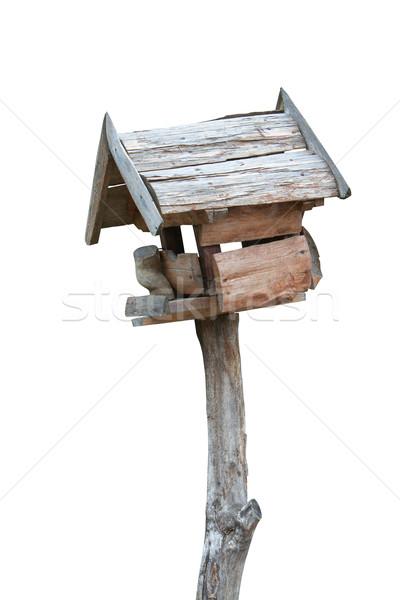 Old Trough for Birds Stock photo © frescomovie