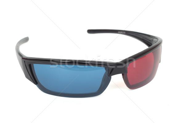 3d cinema glasses. Isolated on white Stock photo © frescomovie