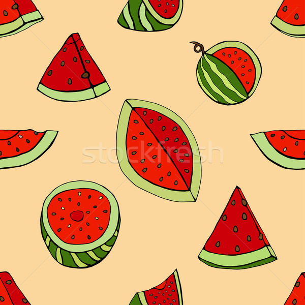 pattern watermelon Stock photo © frescomovie