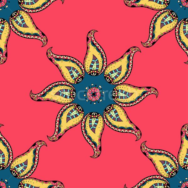 Vintage Seamless patterns. Stock photo © frescomovie