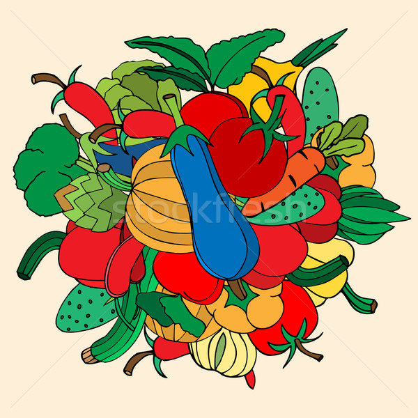 vegetables Stock photo © frescomovie