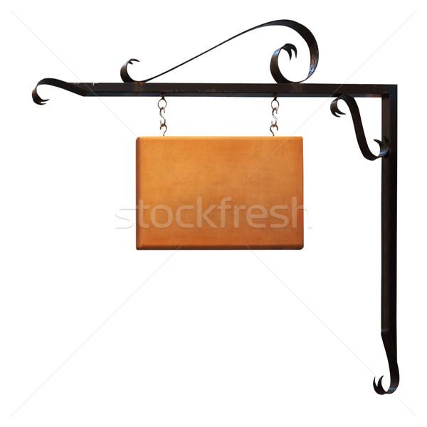 signboard. Stock photo © frescomovie