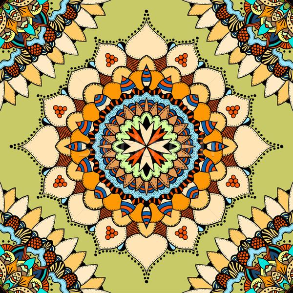 Seamless vector colorful pattern. Stock photo © frescomovie