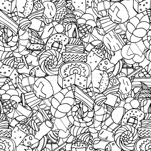 Confiserie image Pâques fleur Photo stock © frescomovie