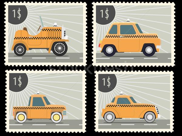 postage stamp Stock photo © frescomovie