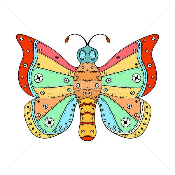vector zentangle butterfly Stock photo © frescomovie