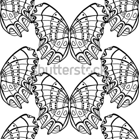 butterfly seamless background Stock photo © frescomovie