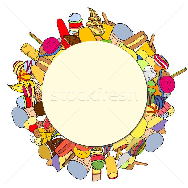 Circular Background Stock photo © frescomovie