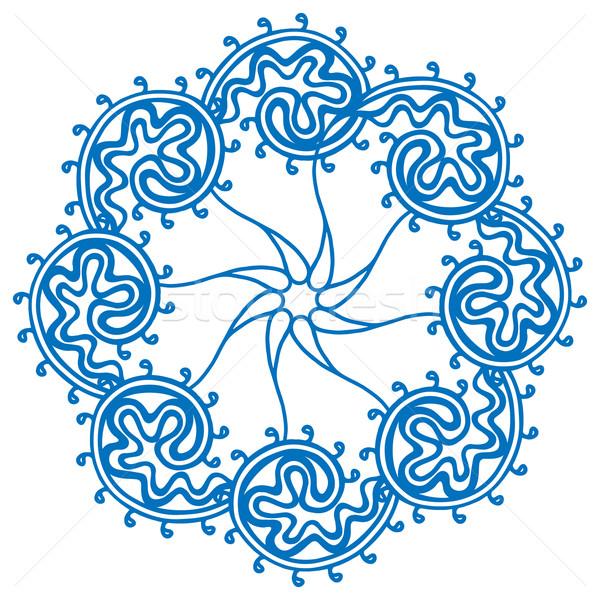 Rosette ornament. Stock photo © frescomovie