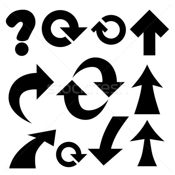 arrows and symbols. Stock photo © frescomovie