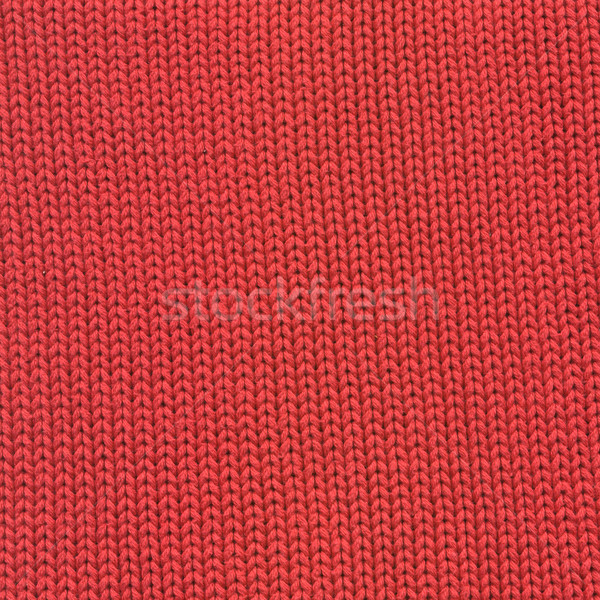 Piros gyapjú textúra gyönyörű magas döntés Stock fotó © frescomovie