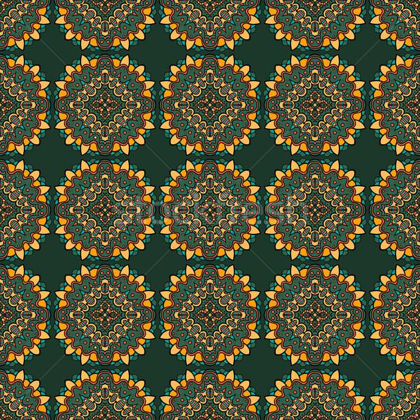 Floral belo vintage textura Foto stock © frescomovie