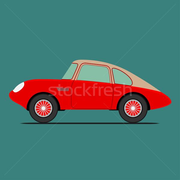 Red Sport car Stock photo © frescomovie