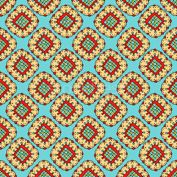 floral seamless pattern Stock photo © frescomovie