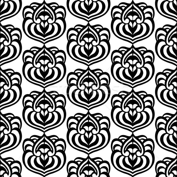 abstrakten tribal muster hand gezeichnet textur vektor grafiken volodymyr. Black Bedroom Furniture Sets. Home Design Ideas