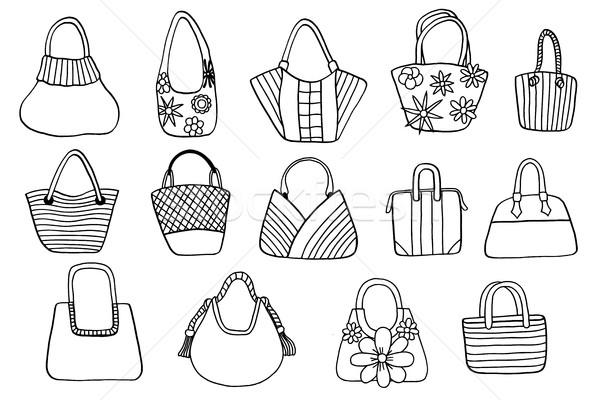 Collectie ontwerp vector geïsoleerd mode Stockfoto © frescomovie