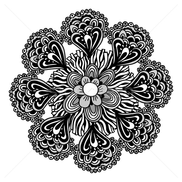 Vintage decoratief communie mandala islam Stockfoto © frescomovie