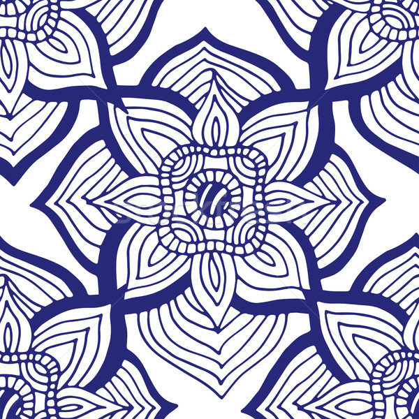Blue pattern. Stock photo © frescomovie