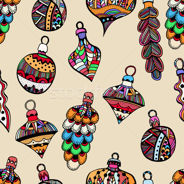 Colored Seamless pattern Stock photo © frescomovie